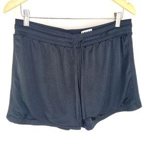 Nike dri-fit black shorts large